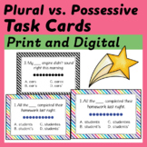 Plural vs. Possessive Noun Task Cards