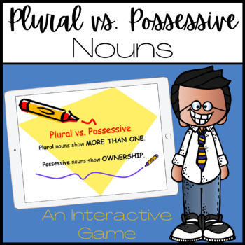 Plural vs. Possessive Nouns THE GAME