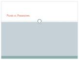 Plural vs. Possessive PowerPoint