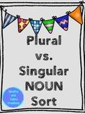 Plural vs. Singular Noun Sort