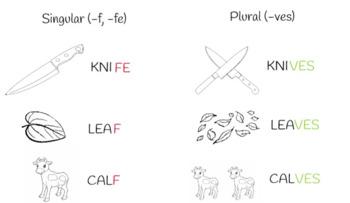 Plurales irregulares en inglés - Irregular Plurals