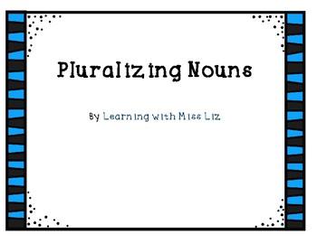 Pluralizing Nouns