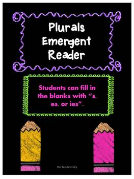 Plurals Emergent Reader