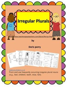 Plurals Irregular