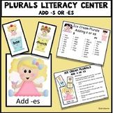Plurals Literacy Center - Ice Cream Theme