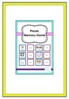 Plurals Memory Game