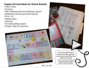 Plurals & Possessives Game Board Project
