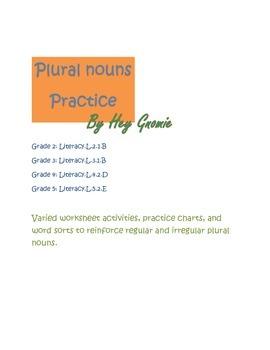 Plurals Practice