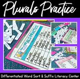 Plurals Practice Literacy Activity