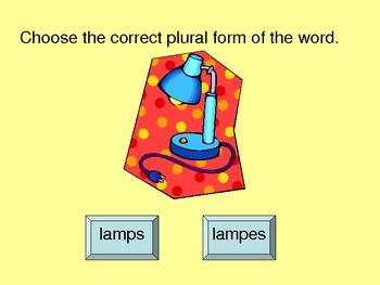 Plurals Practice Power Point Presentation