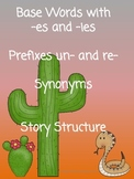 Plurals, Prefixes, Synonyms,& Two Story Structure Handouts