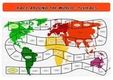 Plurals - Race Around the World Game