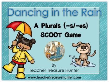 Plurals SCOOT Game Dancing in the Rain