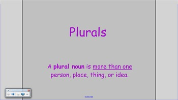 Plurals SMART Notebook