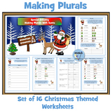 Plurals - Set of Christmas Themed Worksheets