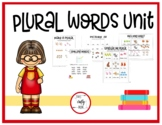 Plurals Spelling & Word Study Unit