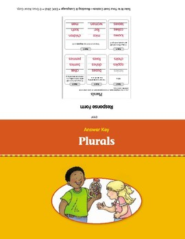Plurals (Take It to Your Seat Centers)