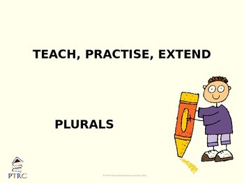 Plurals Teaching PowerPoint