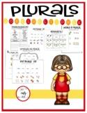 Plurals Worksheet Pack
