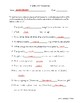 Plurals and Possessives Fill-in-the-Blank