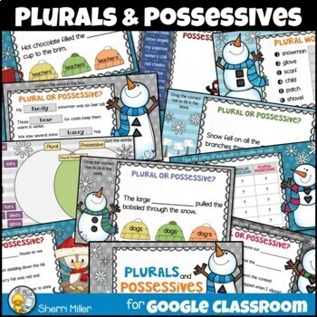 Plurals and Possessives for Google Classroom