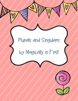 Plurals and Singulars Freebie