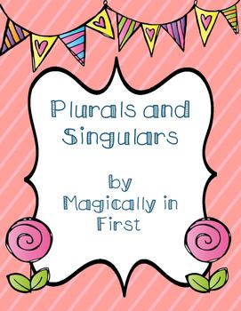Plurals and Singulars Packet