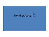 Plurals game boards (3pg) focused on plural practice RAPT support