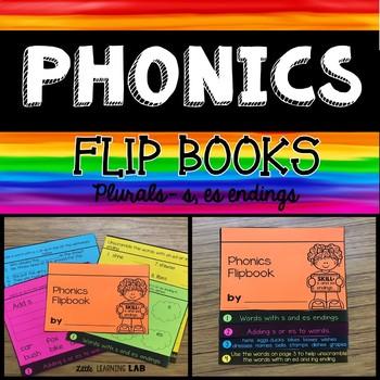 Journeys Click, Clack, Moo   Plurals s, es   Phonics Flip Book