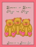 "Plurals with -s or -es Read the Room center ""Bunches of Bears"""