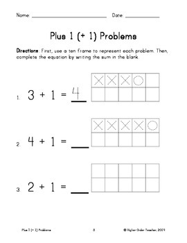 Plus 1 (+ 1) Problems