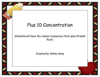 Plus 10 Concentration