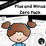 Plus/Minus Zero Pack-EDITABLE! (***FREEBIE***)
