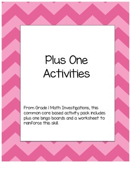 Plus One Activities