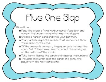 Plus One Slap - Adition Strategy Game