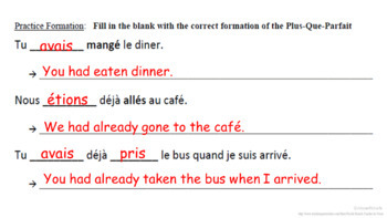 Plus-Que-Parfait (Pluperfect) Formation and Usage: French Quick Lesson