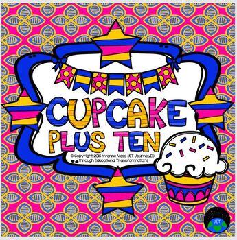 Plus Ten Cupcake