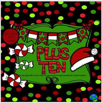 Plus Ten December Santa Hat and Candy