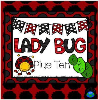 Plus Ten Lady Bug Math Station