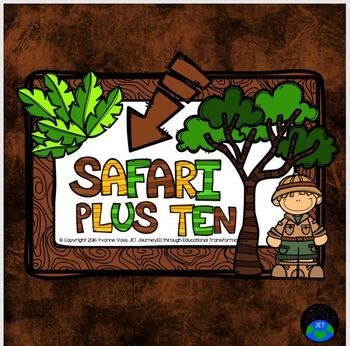 Plus Ten Safari Math Station