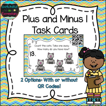 Plus and Minus 1 Task Cards