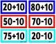 Plus and Minus 10 Flash Cards