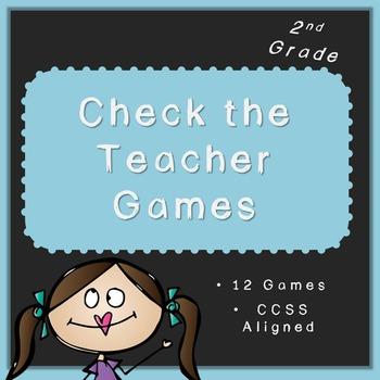 Check the Teacher! (Common Core Aligned Second Grade Math Activities)