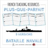 Plus-que-parfait - Bataille Navale - French pluperfect bat