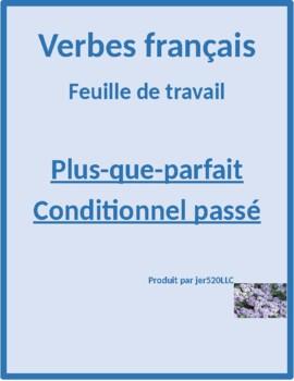 Plus-que-parfait et Conditionnel passé worksheet