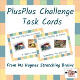 PlusPlus Building Toy Task Cards for Makerspace, Morning W