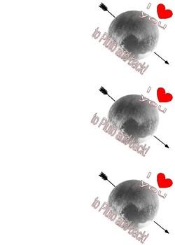 Pluto Valentines!