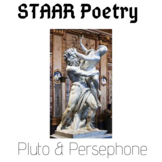 Pluto and Persephone Love Poem & Paired Passage STAAR Reading