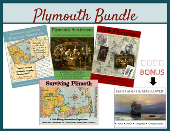 Plymouth Bundle!--Constructivist, Simulation, Activities and Close Reads