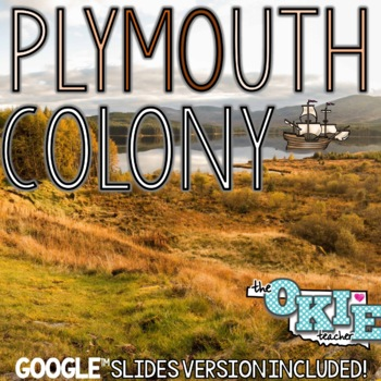 Plymouth Colony PowerPoint Lesson And Note Sheet